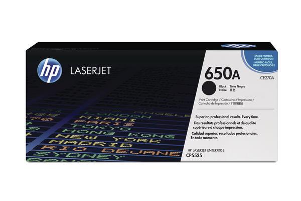 Original  Tonerpatrone schwarz HP Color LaserJet Enterprise CP 5525 N