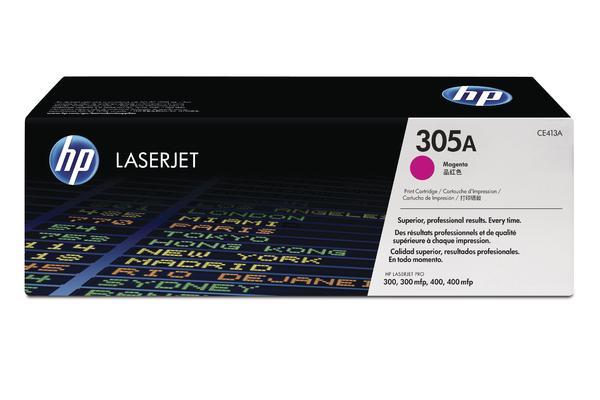 Original  Tonerpatrone magenta HP LaserJet Pro 400 color M 451 dn