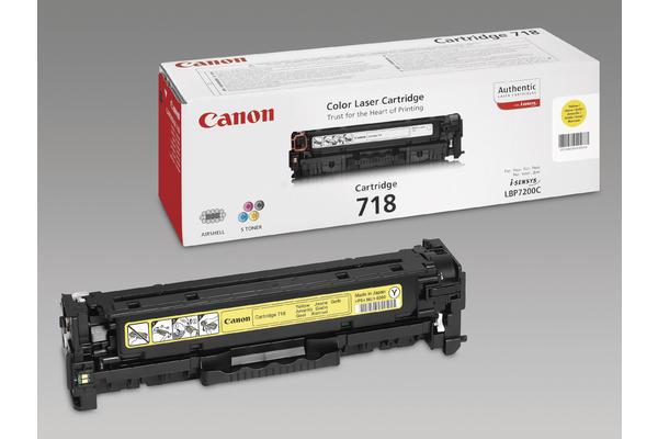 Original  Tonerpatrone gelb Canon iSENSYS MF 8340 cdn