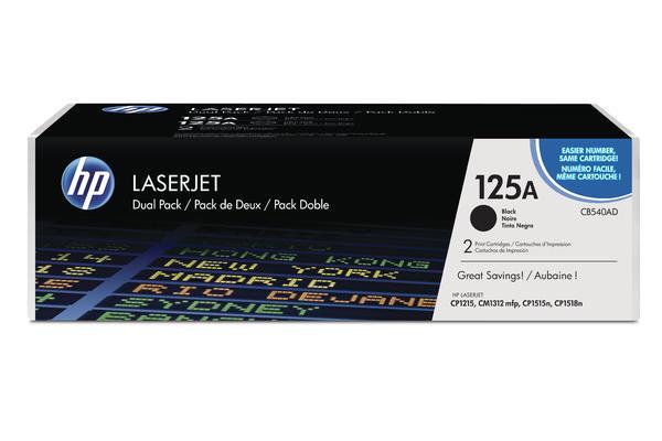 Original 2  Tonerpatronen schwarz HP Color LaserJet CP 1515 N