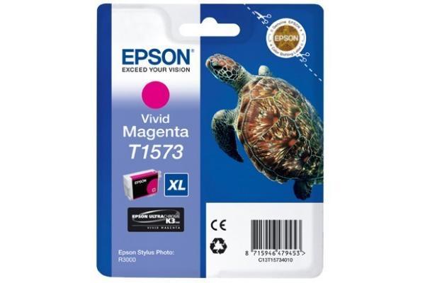 Original  Tintenpatrone vivid magenta Epson Stylus Photo R 3000
