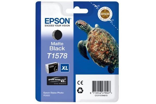 Original  Tintenpatrone matt schwarz Epson Stylus Photo R 3000