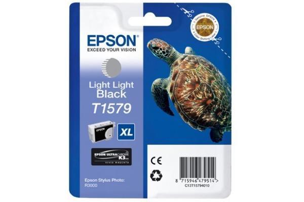Original  Tintenpatrone light light schwarz Epson Stylus Photo R 3000