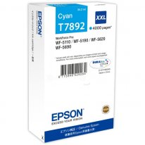 Original  Tintenpatrone XXL cyan Epson WorkForce Pro WF-5110 DW