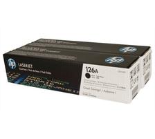 Original 2  Tonerpatronen schwarz HP LaserJet CP 1025 NW Color