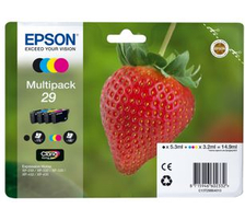 Original  Multipack Tinte CMYBK Epson Expression Home XP-442