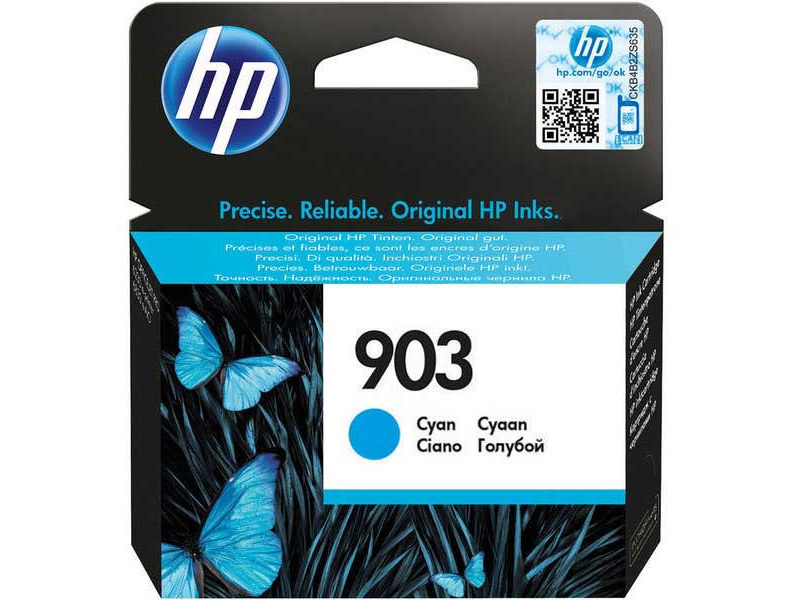 Original  Tintenpatrone cyan HP OfficeJet Pro 6975
