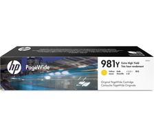 Original  Tintenpatrone gelb HP PageWide Enterprise Color Flow MFP 586 dn