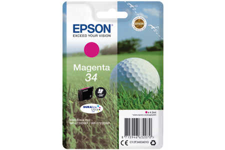 Original  Tintenpatrone magenta Epson WorkForce Pro WF-3700 Series
