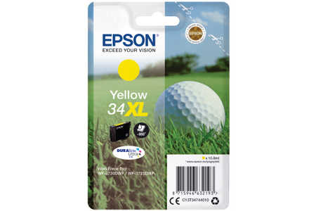 Original  Tintenpatrone yellow Epson WorkForce Pro WF-3700 Series