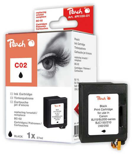 Peach  Druckkopf schwarz kompatibel zu Brother Whisperwriter WP 7000 J