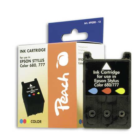 Peach  Tintenpatrone color kompatibel zu Epson Stylus Color 680