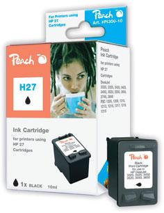 Peach  Druckkopf schwarz kompatibel zu HP DeskJet 3420