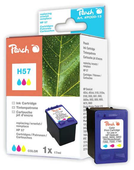 Peach  Druckkopf color kompatibel zu HP DeskJet 9680