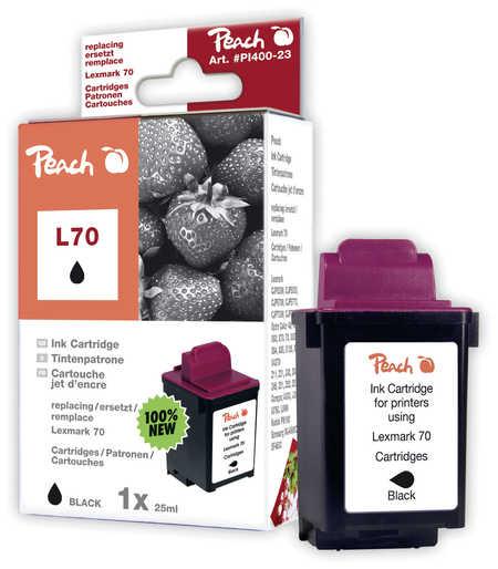 Peach  Druckkopf schwarz kompatibel zu Lexmark Z 51