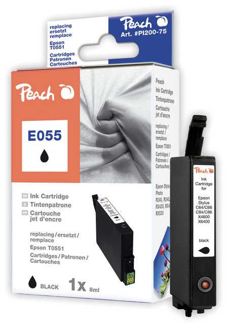 Peach  Tintenpatrone schwarz kompatibel zu Epson Stylus Photo RX 420
