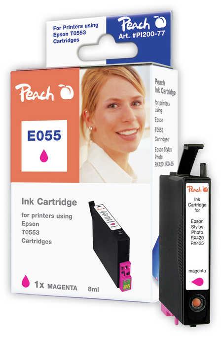 Peach  Tintenpatrone magenta kompatibel zu Epson Stylus Photo RX 420