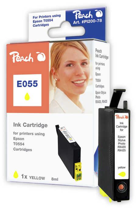 Peach  Tintenpatrone gelb kompatibel zu Epson Stylus Photo RX 420