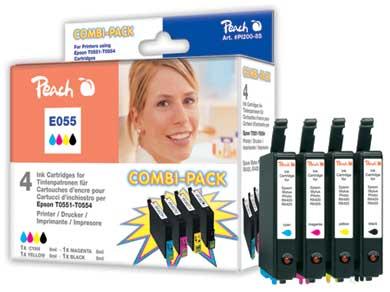 Peach  Spar Pack Tintenpatronen kompatibel zu Epson Stylus Photo RX 420