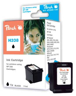 Peach  Druckkopf schwarz kompatibel zu HP PSC 1510