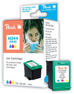Peach  Druckkopf color kompatibel zu HP DeskJet 5740