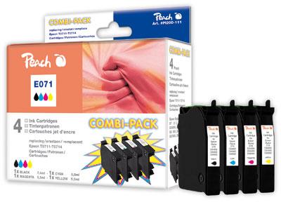 Peach  Spar Pack Tintenpatronen kompatibel zu Epson Stylus Office BX 310 FN