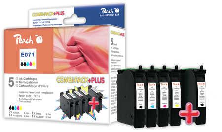 Peach  Spar Pack Plus Tintenpatronen kompatibel zu Epson Stylus Office BX 310 FN