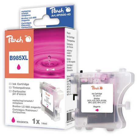 Peach  Tintenpatrone magenta kompatibel zu Brother MFCJ 410