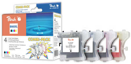 Peach  Spar Pack Tintenpatronen kompatibel zu Brother MFCJ 410