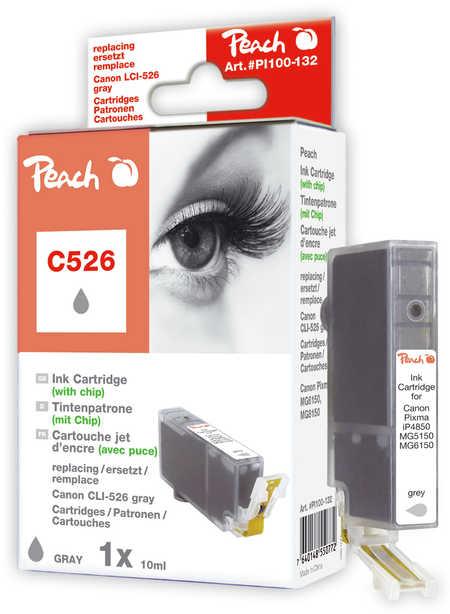 Peach  XL-Tintenpatrone grau kompatibel zu Canon Pixma MG 6150