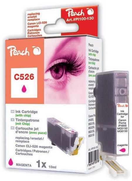 Peach  XL-Tintenpatrone magenta kompatibel zu Canon Pixma MG 6150