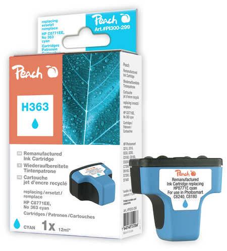 Peach  Tintenpatrone cyan kompatibel zu HP PhotoSmart 8250