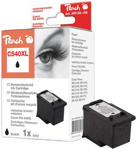 Peach  Druckkopf XL schwarz kompatibel zu Canon Pixma MG 2250