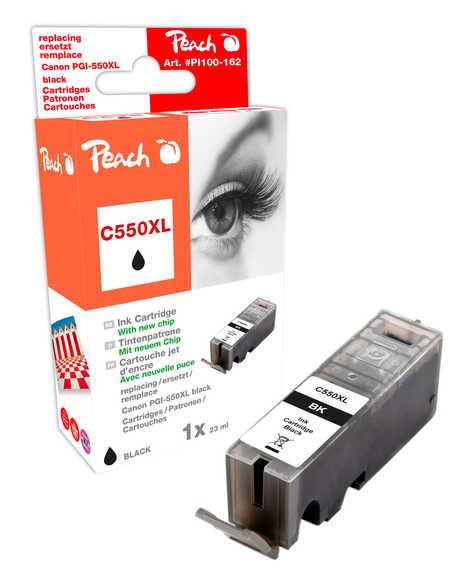 Peach  XL-Tintenpatrone schwarz kompatibel zu Canon Pixma MX 725
