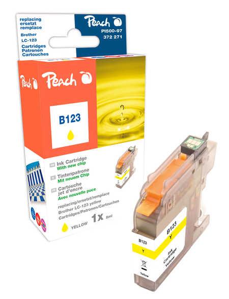 Peach  Tintenpatrone gelb kompatibel zu Brother MFCJ 6520 DW